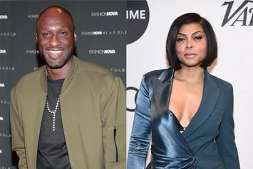"Lamar Odom Cheated On Taraji P. Henson During Their ""Secret"" Relationship"