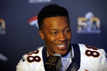 Demaryius Thomas Thankful To Be Alive Following Near Fatal Car Crash