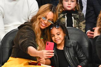"Watch: Blue Ivy Sings Along To ""Circle Of Life"" With Mom Beyoncé In ""Lion King"" Inspired Outfits"