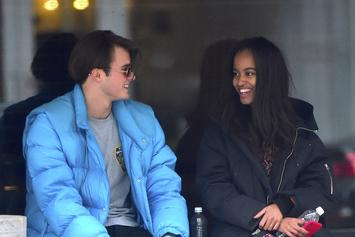 Malia Obama Cozies Up To Her Harvard Boyfriend In New Pics