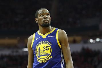 "Warriors Employee Claims It's ""Killing"" Kevin Durant That He Can't Play"