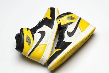 "Air Jordan 1 ""Yellow Toe"" Rumored To Release This Month"