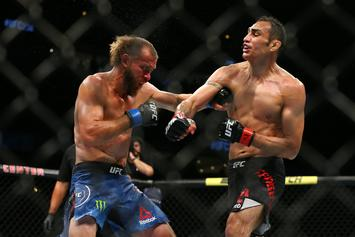 "Tony Ferguson's TKO Win Over Donald ""Cowboy"" Cerrone Divides Opinion In MMA World"