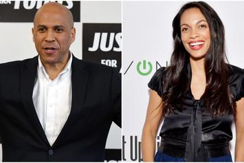 Cory Booker & Rosario Dawson Are Both Proud Vegans