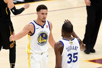 Klay Thompson Has Perfect Response When Asked If KD Earned 'Splash Bro' Status