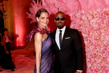"""Jamie Foxx & Katie Holmes Reportedly """"Stronger Than Ever"""" In Long Distance Relationship"""