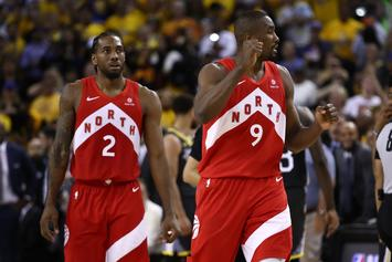 Kawhi Leonard & Serge Ibaka Hilariously Discuss Championship Diet