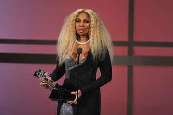 Mary J. Blige Accepts BET Lifetime Achievement Award