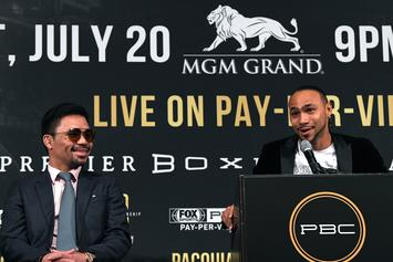 Keith Thurman Says He's Betting $10K On His Manny Pacquiao Fight