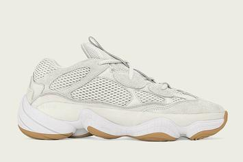 "Adidas Yeezy 500 ""Bone White"" Releases This Summer: First Look"