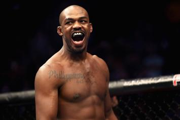 Jon Jones Demonstrates How To Properly Throw An Elbow: Watch