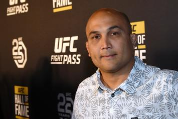 BJ Penn Fought A Strip Club Bouncer While In Honolulu: Watch