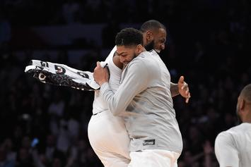 LeBron James Will Give Anthony Davis His Jersey Number: Report