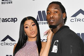"Offset Praises Cardi B For ""Press"" Music Video: ""She Is So Creative"""