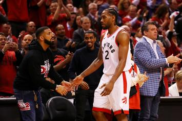 Drake Is Helping The Raptors With Kawhi Leonard Pitch: Report