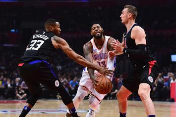 "Clippers Garner Highest ""NBA Title Odds"" With Additions Of George, Kawhi Leonard"