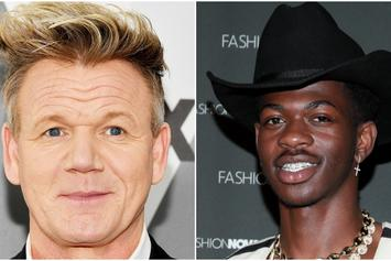 "Gordon Ramsay Teaches Lil Nas X How To Make A Fire ""Panini"""