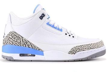 "Air Jordan 3 ""UNC"" Rumored To Drop In 2020: New Details"
