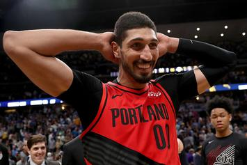 """Enes Kanter Shows Off His Ridiculous """"Cheat Day"""" Meal: Video"""