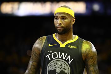 """DeMarcus Cousins Used To Chirp Warriors Rookie By Calling Him A """"Virgin"""""""