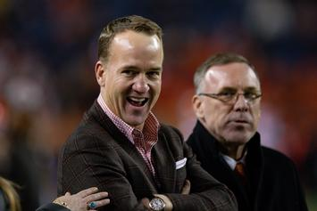 "Peyton Manning Turned Down ""Monday Night Football"" Gig Because Of Eli: Report"
