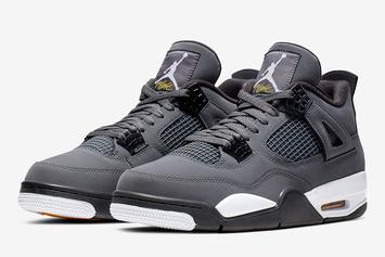"Air Jordan 4 ""Cool Grey"" Drops August 1st: Official Photos"