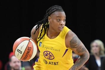 L.A. Sparks' Riquna Williams Suspended Over Domestic Violence Incident: Report