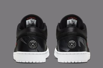 Air Jordan 1 Low x PSG Collab Coming Soon: Official Photos