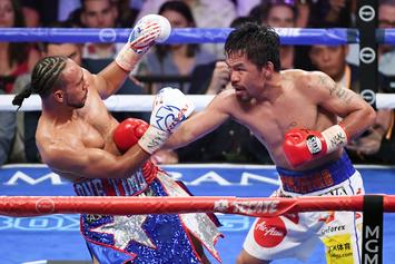 Manny Pacquiao Ends Keith Thurman's Undefeated Streak, Clinches WBC Title