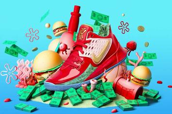 """Kyrie Irving Shows Off """"Mr Krabs"""" Nike Kyrie Low 2: Video"""
