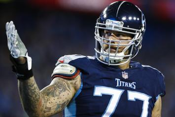 Taylor Lewan Gets Emotional While Talking About Failed Drug Test: Watch