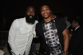 Russell Westbrook & James Harden Star In Flashy Rockets Hype Video: Watch
