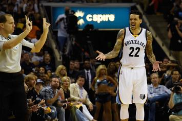 Matt Barnes Hilariously Coaches Son From The Sidelines After Ejection: Watch