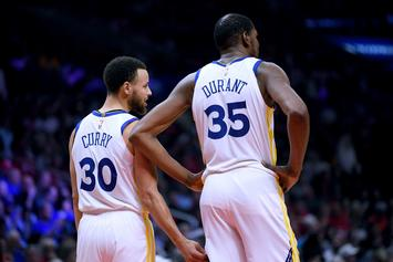 Steph Curry Explains How He Consoled Kevin Durant After Achilles Injury
