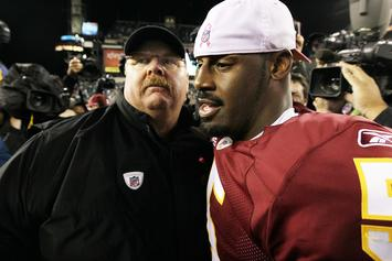 Andy Reid Explains Why Donovan McNabb Belongs In The Hall Of Fame