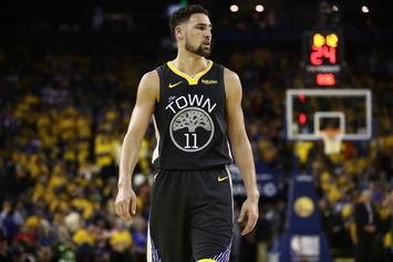 "Klay Thompson Believes His ACL Injury Is A ""Tragic Part Of Sports"""