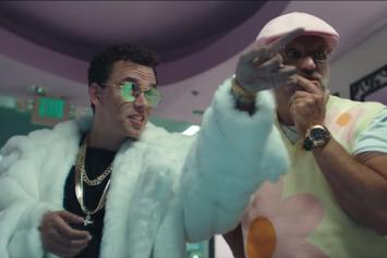 "Logic & Gucci Mane Choose Between Dripping Or Drowning In ""Icy"" Visual"