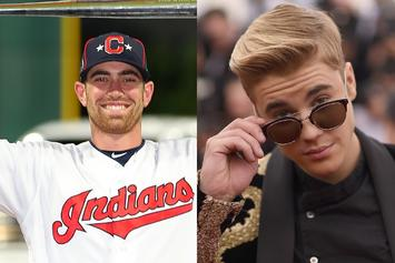 "Indians Pitcher Shane Bieber Mistaken For ""Justin Bieber"" On Topps Baseball Card"
