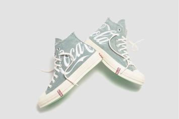 "Kith x Coca-Cola x Converse Chuck Taylor ""Denim"" Releasing This Week"