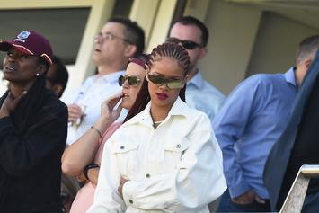 Rihanna & Her Father Hug It Out In Barbados After Exploitation Lawsuit