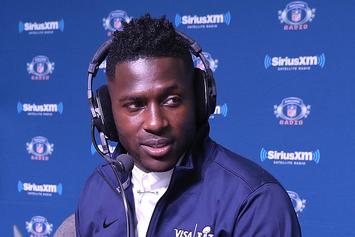 Antonio Brown's Feet Reportedly Frostbitten In Cryotherapy Machine