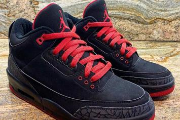 Unreleased Air Jordan 3 Sample Begs The Question: Would You Cop?