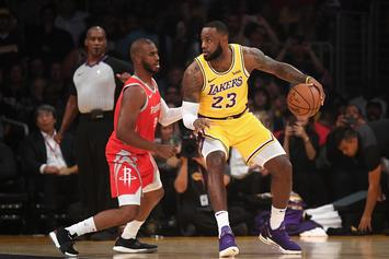 LeBron James & Chris Paul Link Up For Friendly Workout: Watch