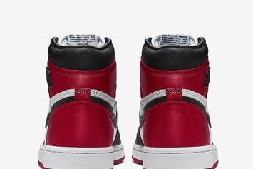 "Air Jordan 1 Satin ""Black Toe"" Release Details Emerge: Official Images"