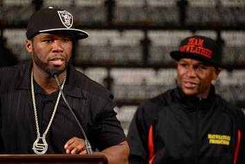 50 Cent Says Floyd Mayweather Won