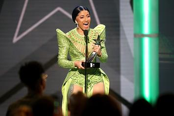 """Cardi B Jokes About Plastic Surgery: """"Bought These T*tties So I Can Float"""""""