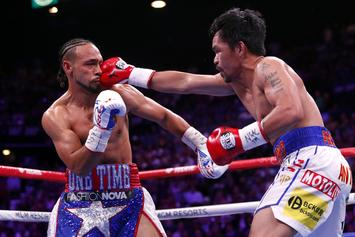 Keith Thurman Rips Apart Pacquiao & Mayweather Rematch Talks: Watch