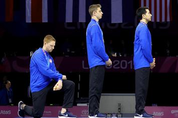 Olympic Fencer Kneels During National Anthem In Peru, Faces Disciplinary Action
