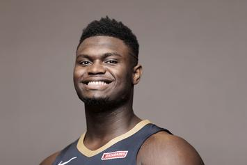Zion Williamson's Game-Worn Duke Shoes Sell For Insane Amount At Auction