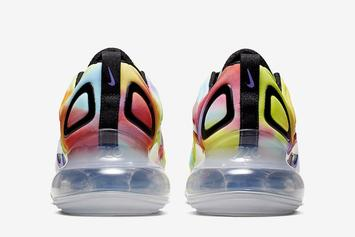"Nike Air Max 720 ""Tie-Dye"" Set To Release Soon: Official Images"